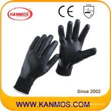 15gaug Nylon Nitrile с покрытием Промышленные рабочие перчатки безопасности (53304NL)
