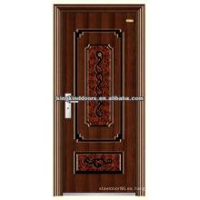 Mejor precio acero puerta decorativa KKD-534 con precio competitivo y alta calidad