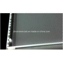 Placa de acrílico Placa de guía de luz acrílica Placa difusora de acrílico