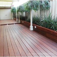 Suelo de madera al aire libre decorativo Merbau antideslizante