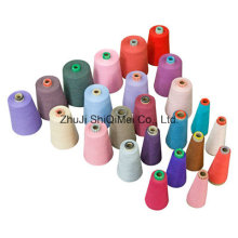 Factory Supply Close Virgn 21s 30s 100% Polyester Ring Spun Yarn