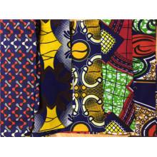 100% Baumwolle Ankara afrikanisches Wachs-Druckgewebe