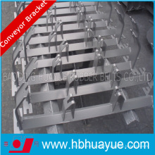 Rubber Casting Conveyor Roller Bracket, Steel Bracket for Conveyors