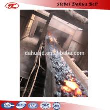 DHT-110 fire resistant rubber belt conveyor belt for coke