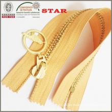 2016 Brass Nickel Plated Zipper for Garments
