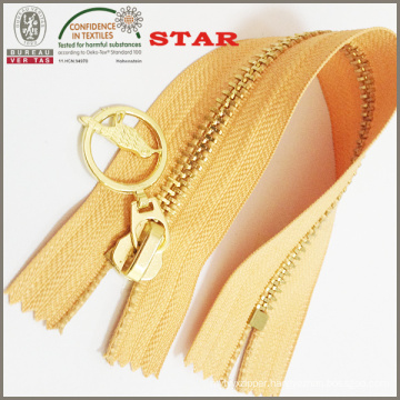 2016 Brass Nickel Plated Zipper for Garments