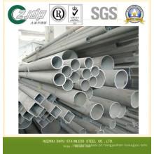 304 304L de boa qualidade tubo de aço inoxidável sem costura