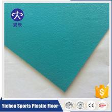 Plancher commercial de feuille de vinyle de PVC à la mode