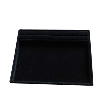 Многофункциональный черный флокированный браслет для ювелирных изделий (TY-MTI-RF-BV)