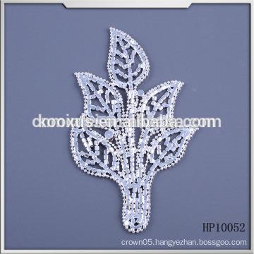 New design rhinestone appliques for wedding dress