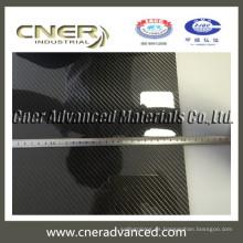 Grosor 1 mm 2 mm 3 mm 4 mm 5 mm 3k hoja de fibra de carbono