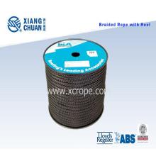 Corde de polystère de tresse avec la bobine