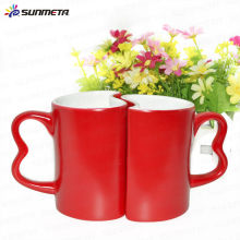 11oz sublimation blank lovers magic mug