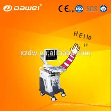 CE & ISO Doppler couleur 3D C80 Dawei & trolley 2D échographe ordinateur portable pour la grossesse et le rein du foie fœtus