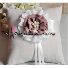 Grey Wedding Ring Bearer Pillow Wedding Gift Wedding Ring Pillow
