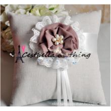 Серый Свадебные Кольца На Предъявителя Подушка Свадебная Подарок Обручальное Кольцо Подушку