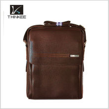 Vintage Style Genuine Leather Men's Briefcase/ Messenger Bag/ Laptop Bag