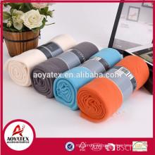100 полиэстер оптовая лучшее качество твердое приполюсное одеяло ватки