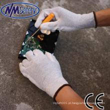 Luvas resistentes elétricas industriais do trabalho de mão de NMSAFETY