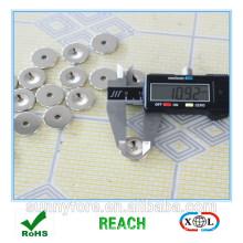 hot sale round countersunk powerful neodymium magnet lot