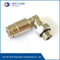 Swivel Male Elbow BSPP Parallel Air Compression Fittings