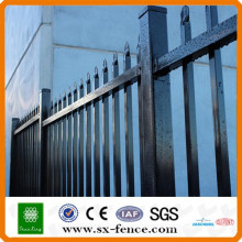 Powder coated Welded Steel Tubular Fence