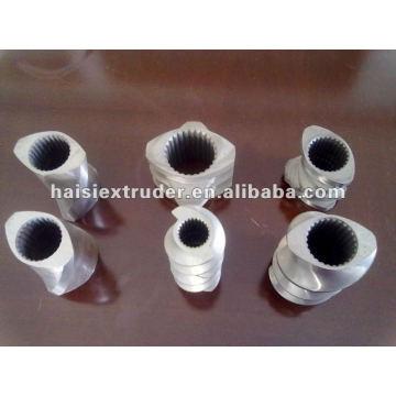 Hohe Qualität und Standard Twin Schraube Extruder Schraube-Element