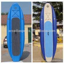 Les trois chambres gonflables en gros de SUP de paddleboard tiennent les planches de palette