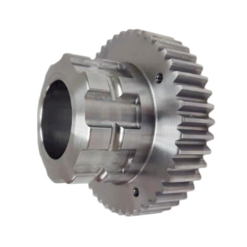 Custom Cnc Machined Parts Steel Splined Spur Gear