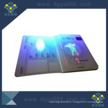 UV Invisible Watermark Anti-Counterfeiting Certificate Printing