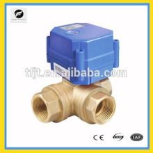 CWX-60 3 vías Válvula de drenaje automática Válvula de motor de 1 pulgada