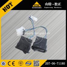PC1250-8 PC400-7 switch machine push up 207-06-71180