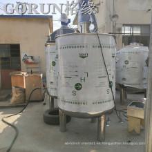 El oro del precio de fábrica del vendedor el tanque de mezcla del acero inoxidable 1000L
