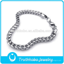 TKB-JN0041 Requintado de Alta Qualidade de prata colar de corrente dos homens 316L em Aço Inoxidável Material DongGuan Truthkobo Jóias