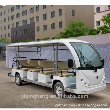 14 seaters high quality gas powered new passenger shuttle bus for sale