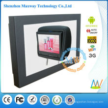 12 inch android OS 4.4 Network Wifi 3G taxi digital signage