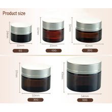 Cosmetic Jar Seal with Plastic Lid (NBG17)