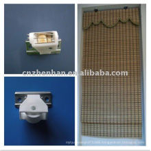 White color cord lock and cord pulley to bamboo blinds,woven wood blinds components,roman shade accessories,curtain accessory