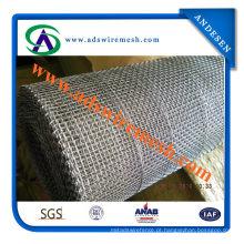 Rede de arame quadrada galvanizada 1 / 4inch da fábrica direta