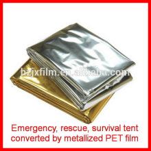 Cobertores de emergência / cobertores de sobrevivência