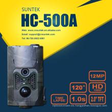 Pantalla 2.0 Cámara de detección de movimiento de 120 grados HC500A