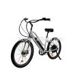 Bicicletas eléctricas eléctricas cruiser de la playa del estilo popular de la bicicleta e de la bici oculta 2018