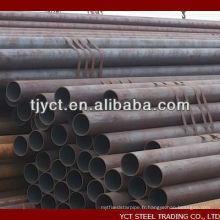 tuyau en acier au carbone sans soudure 1020 1045 Q235B SS400 ASTM A36