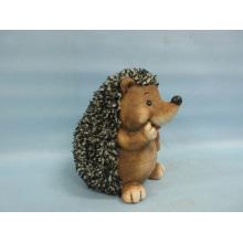 Hedgehog forma de artesanía de cerámica (LOE2530-C18)