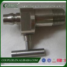 Raccord de tuyau en laiton avec valve