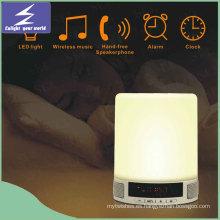 Lámpara táctil de múltiples funciones sin hilos del bulbo del jugador de la lámpara
