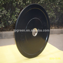 high quality black competition rubber bumper weight plates