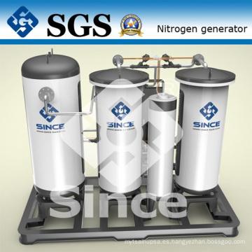 Purificación por presión, purificación de nitrógeno por adsorción