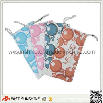 Estojo para óculos de microfibra macia impresso em quatro cores (DH-MC0401)