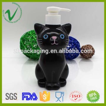 Forma de desenho personalizado bomba de plástico vazio sabão líquido frasco de PP